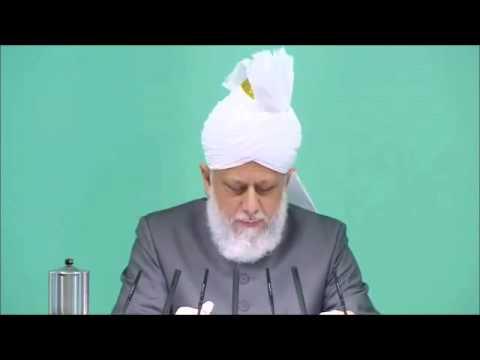 Deux serviteurs exemplaires de l'Islam et de l'Ahmadiyya – sermon du 16-11-2012