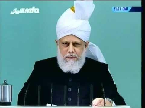 Hommages à Syed Dawood Muzaffar Shah Sahib – sermon du 11 mars 2011