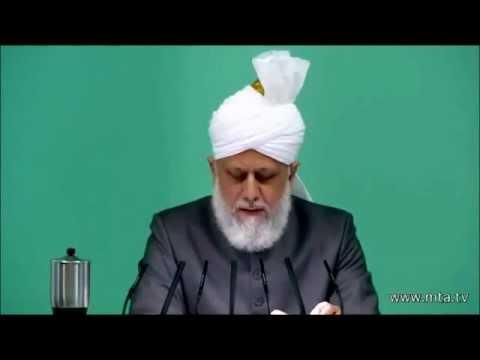 La renaissance de l'Islam et la persécution – Sermon du Vendredi – 26/10/2012