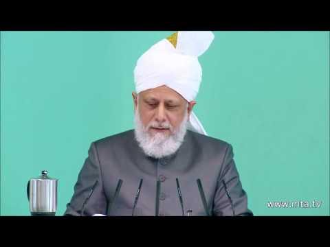 Le Saint Prophète Muhammad (s.a.w.) aux yeux des non-musulmans – Sermon du 05/10/2012