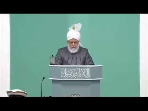 Les compagnons du Messie Promis (as) – Sermon du vendredi 28/12/2012