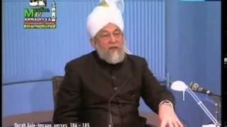 Darsul Quran 08 Février 1995 – Surah Aale Imraan versets (184-185)
