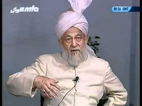 Rencontre Avec Les Francophones 1 août 1997 Question Réponse Islam Ahmadiyya