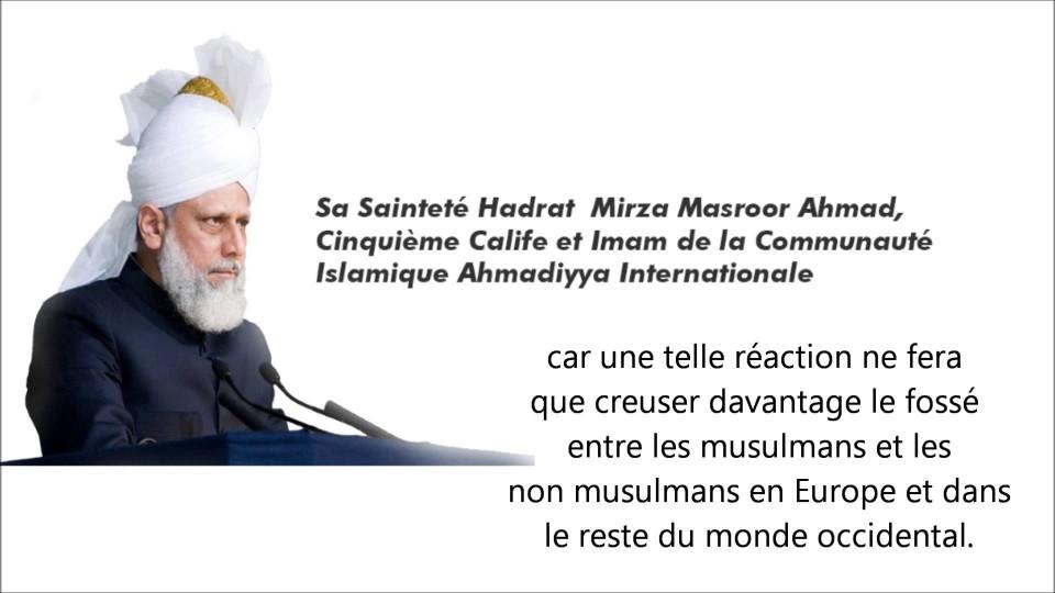 La Communauté Islamique Ahmadiyya condamne l'attaque contre Charlie Hebdo