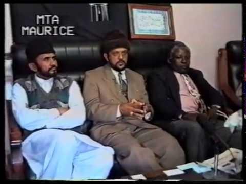 Entrevue en français avec L'Ameer de Maurice 1998