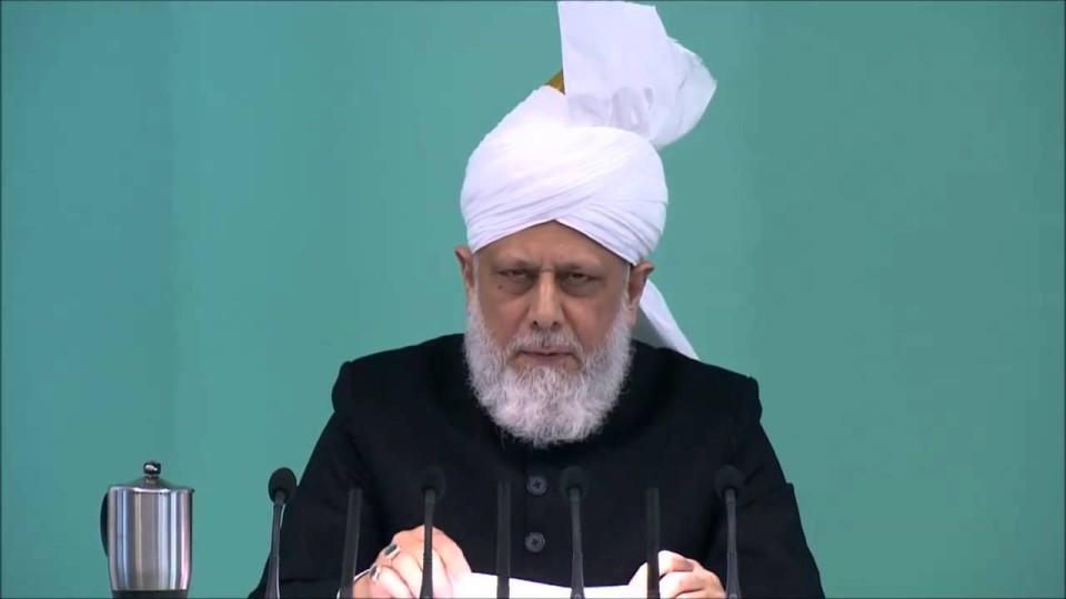 IInvocation de bénédictions sur le Saint Prophète Muhammad (s.a.w.) – sermon 16 01 2015