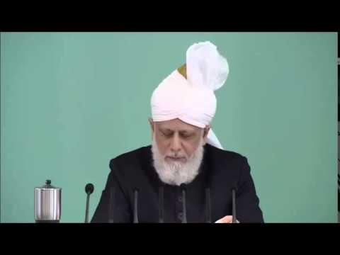 Récits du deuxième Calife : les compagnons du Messie Promis (a.s) – sermon du 07-08-2015