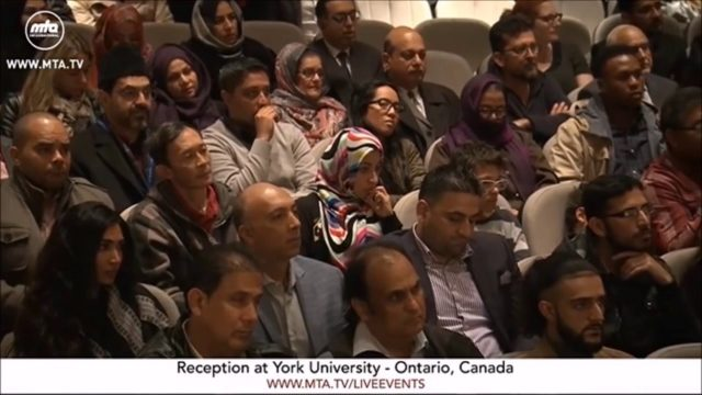 La justice dans un monde injuste – Université de York – Ontario, Canada 2016