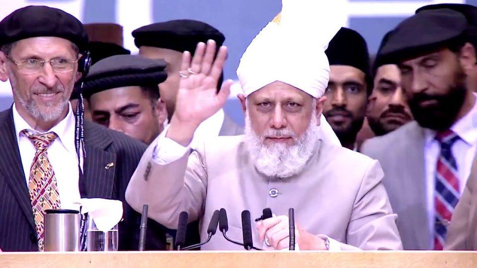 Conseils du Calife de l'islam , la paix et la justice sont indissociables l 01