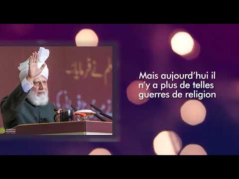 Conseils du Calife de L'islam :  le nom de l'Islam est diffamé I 02