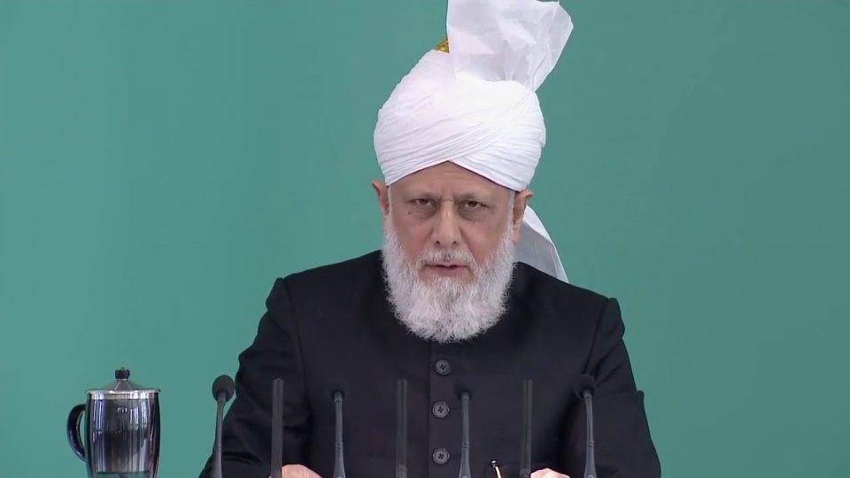 Signes en faveur de la Communauté Islamique Ahmadiyya   sermon du 15 09 2017